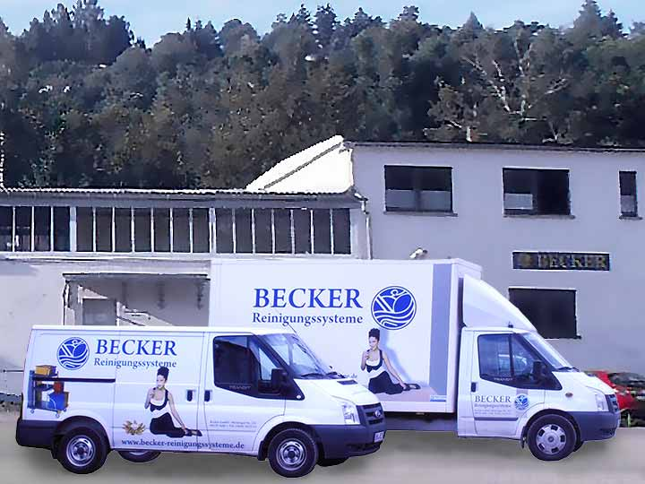 Die Leistungen von Becker Reinigungssysteme Suhl