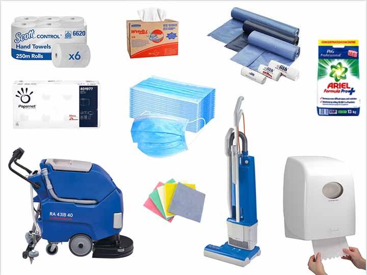 Reinigungsmittel Reinigungsgeräte Hygieneprodukte Desinfektion Zubehör